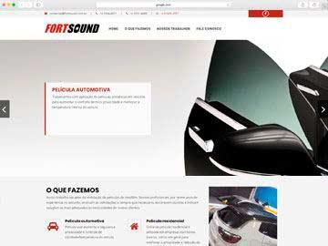 Site institucional e responsivo para empresa de customização de veículos.